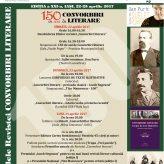 """Programul Zilelor Revistei """"Convorbiri literare"""", ediţia a XXI-a"""