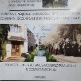 """CONFERINŢA """"NICOLAE GANE ŞI 150 DE ANI DE CONVORBIRI LITERARE"""""""