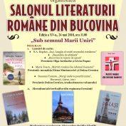 SALONUL LITERATURII ROMÂNE DIN BUCOVINA