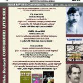 ZILELE REVISTEICONVORBIRI LITERARE  Ediţia a XXIII-a, Iaşi, 9-11 mai 2019