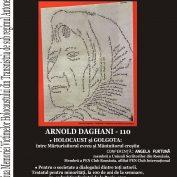 Angela FURTUNĂ: Conferință despre ilustrul sucevean Arnold Daghani, cu prilejul Zilei Memoriei Victimelor Holocaustului din Transnistria de sub regimul Antonescu
