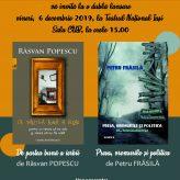 Dublă lansare de carte la Teatrul Național Iași, sala CUB