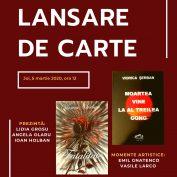 """Lansarea cărților:""""Moartea vine la al treilea gong""""și""""Fatalitate"""", autor Viorica Șerban"""