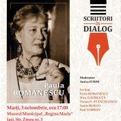 Scriitoarea Paula Romanescu se întâlneşte cu publicul ieşean